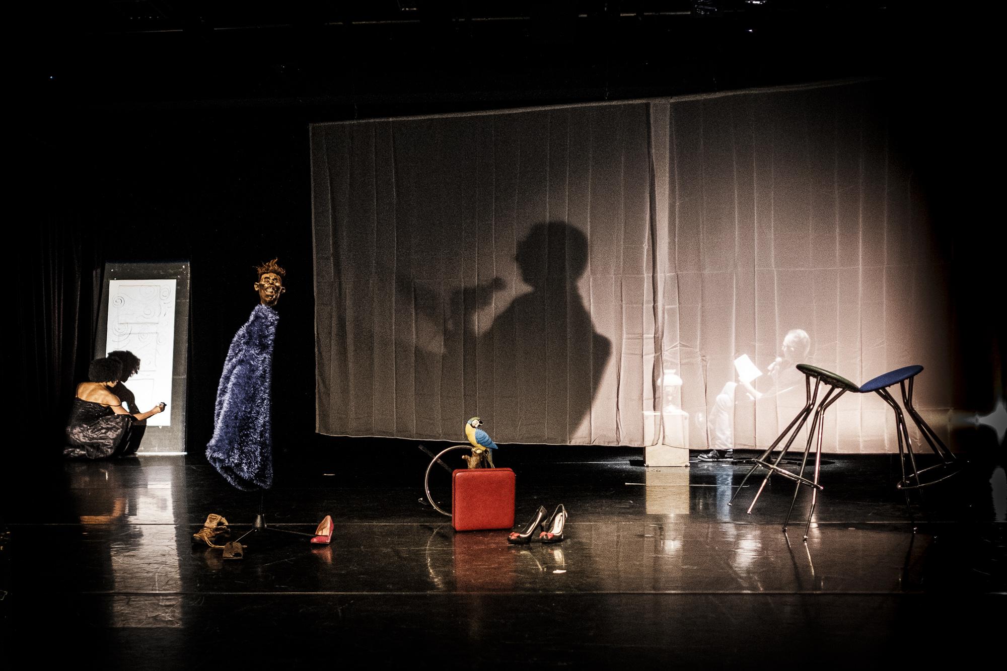 M-A-L-E-N PROJEKT mit Christoph Iacono Photograph Oliver Strömer